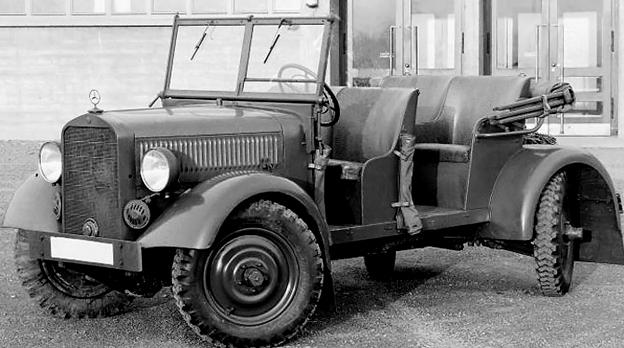 Внедорожник «Mercedes-Benz 170-VL» (W-139). 1939 г.