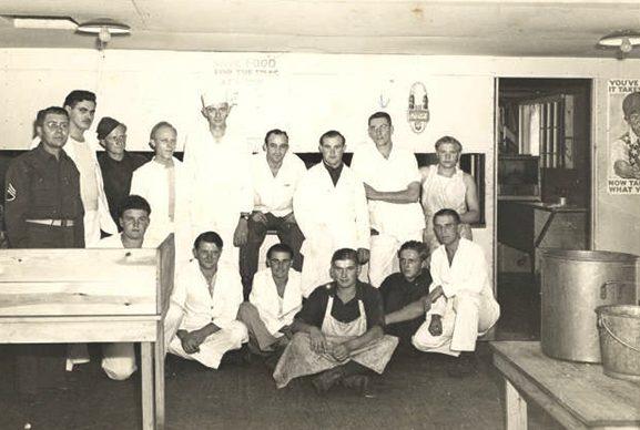 Персонал кухни в лагере «Растон».
