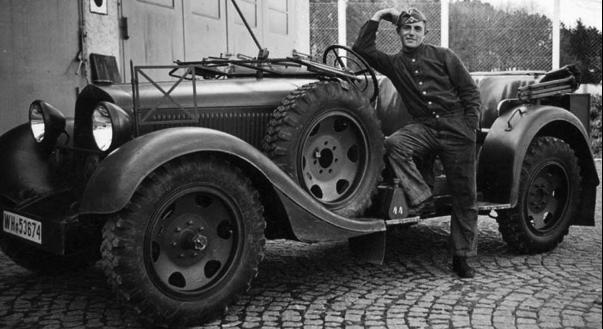Внедорожник «Mercedes-Benz Stuttgart 290» (W-18 III). 1939 г.