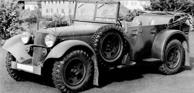 Автомобиль «Mercedes-Benz 320 WK Kübelwagen» (W-142 III). 1939 г.