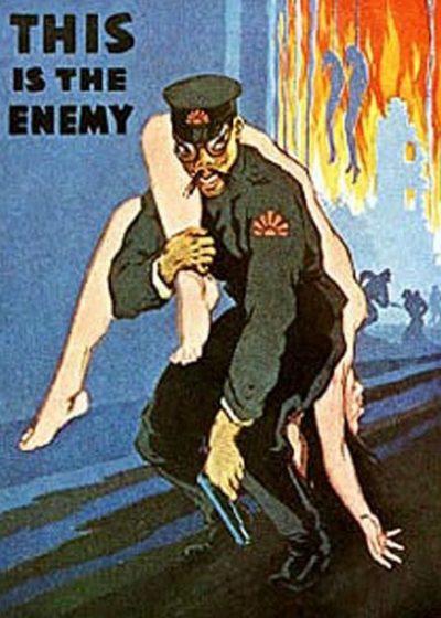 Антияпонские плакаты в США.