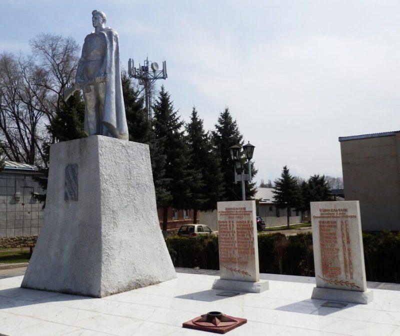 г. Пятигорск, станица Константиновская. Памятник воинам, погибшим в годы Гражданской и Великой Отечественной войн.