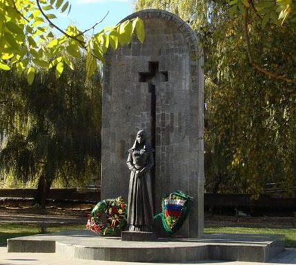 г. Кисловодск. Памятник героям-медикам.