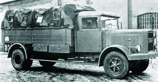 Грузовик «MAN F-1H6». 1939 г.