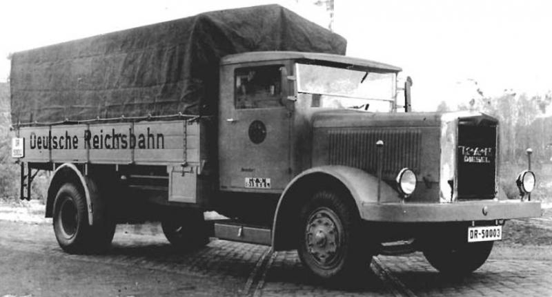 Грузовик «MAN F-2H6». 1939 г.