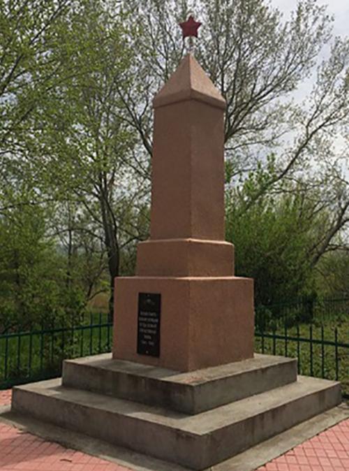 с. Гражданское Минераловодского р-на. Братская могила советских воинов, погибших в годы войны.