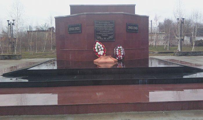 с. Кугульта Грачёвского р-на. Братская могила советских воинов.