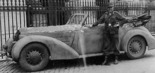 Кабриолет «Hanomag Sturm». 1940 г.