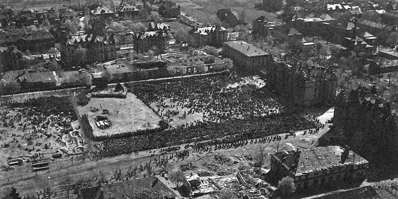 Немецкие военнопленные в Вормсе.
