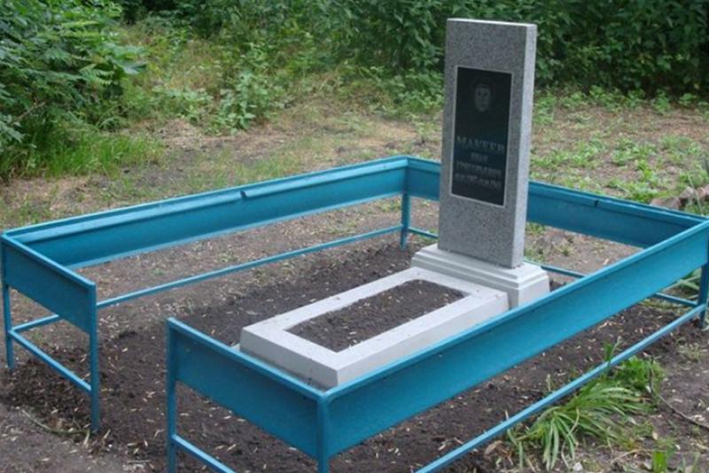 п. Темижбекский Новоалександровского р-на. Братская могила советских воинов.
