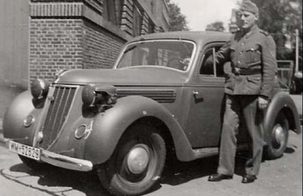 Седан «Wanderer W-24». 1940 г.