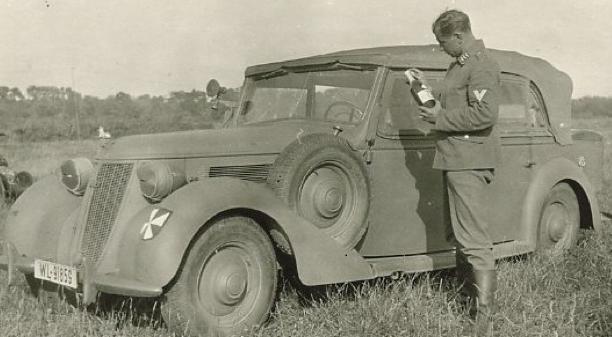 4-дверный кабриолет «Wanderer W-24». 1940 г.
