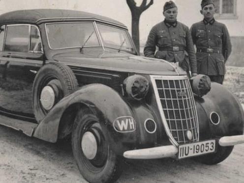 Кабриолет «Wanderer W-52». 1940 г.
