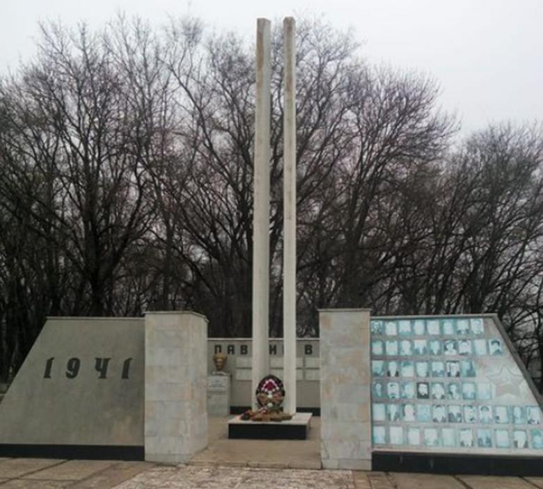 с. Спицевка Грачёвского р-на. Братская могила советских воинов, погибших в боях с немецко-фашистскими захватчиками.