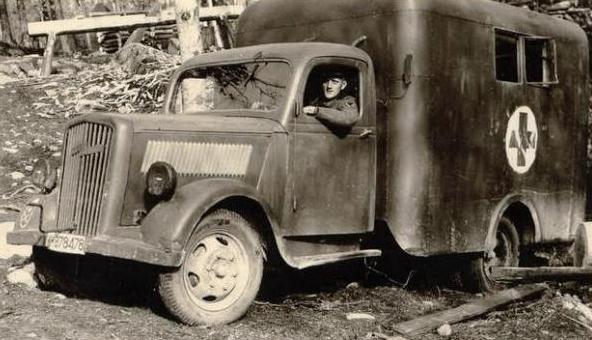 Санитарная машина «Opel Blitz 3.5-134/157». 1940 г.