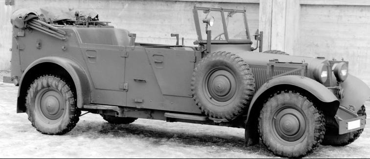 Автомобиль «Mercedes-Benz 340-WK» (W-142 IV). 1940 г.