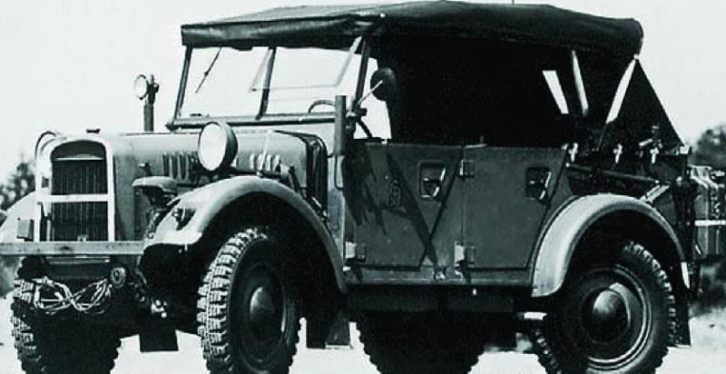 Внедорожник «Stoewer R-200 special Typ 38» (Kfz-1). 1940 г.
