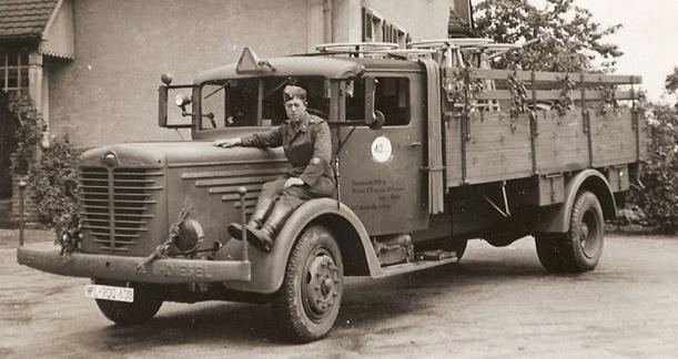 Бортовой грузовик «Bussing-NAG 500-S» (4500). 1940 г.