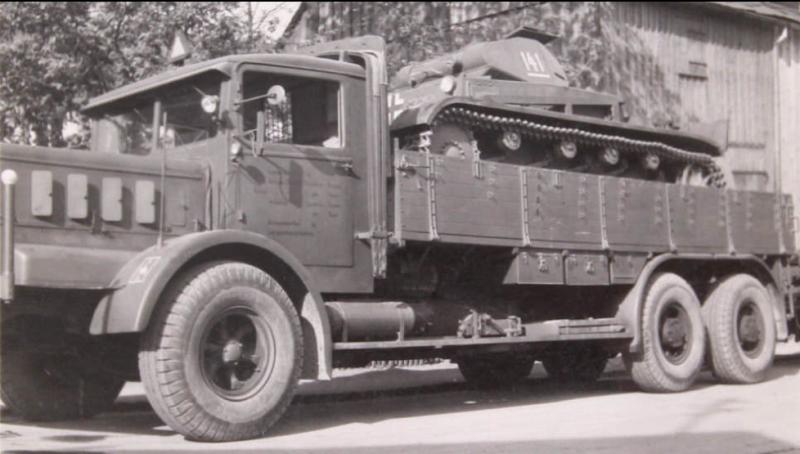 Грузовик бортовой «Büssing-NAG 900». 1940 г.