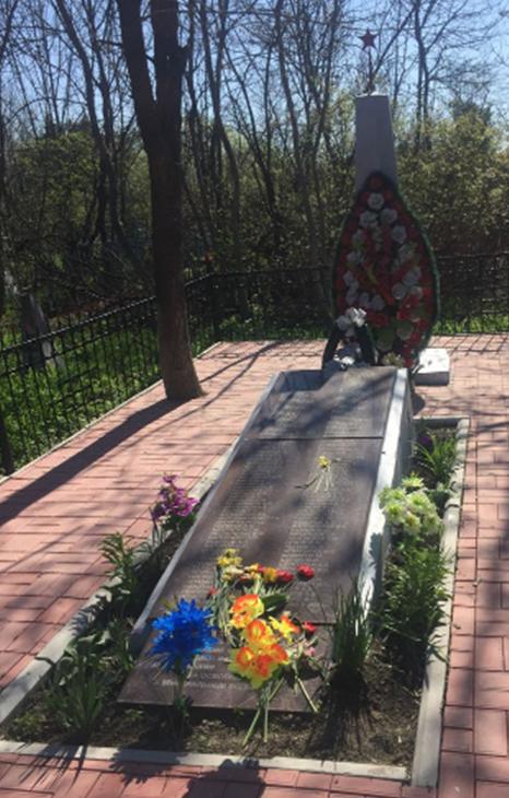 г. Минеральные Воды. Братская могила советских воинов, умерших от ран в госпиталях.