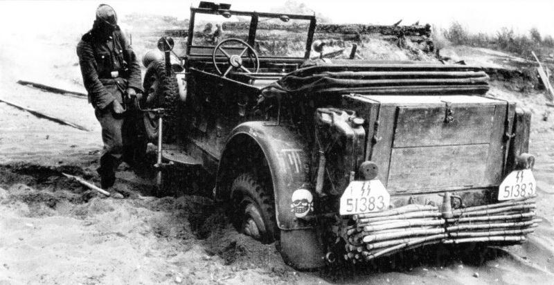 Кюбельваген «Adler». Июнь 1941 г.