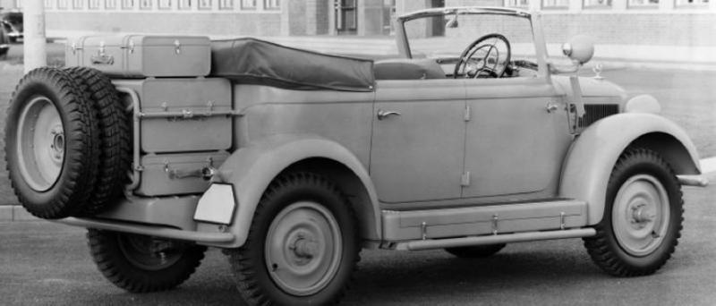 Внедорожник Kolonial-Jagdwagen «Мersedes-Benz G-5» (W-152). 1941 г.