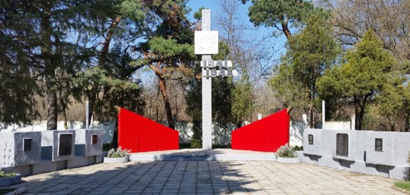 г. Невинномысск. Мемориал рабочим и служащим шерстяного комбината, погибшим в годы войны.