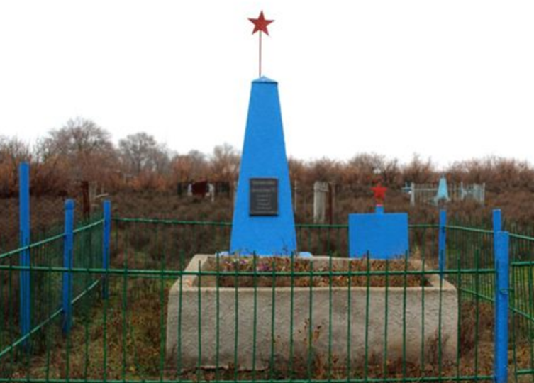 с. Ачикулак Нефтекумского р-на. Могила советских воинов.