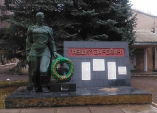 п. Горный Предгорного р-на. Памятник воинам, погибшим в годы войны.