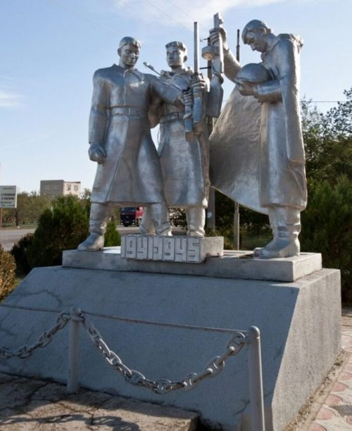 Памятник Славы воинам-освободителям 4-го Кубанского казачьего кавалерийского корпуса.