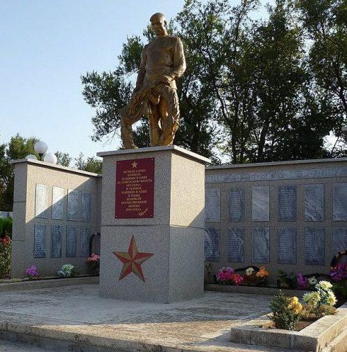 с. Малые Ягуры Туркменского р-на. Братская могила советских воинов, павших в боях в годы Гражданской и Отечественной войн.