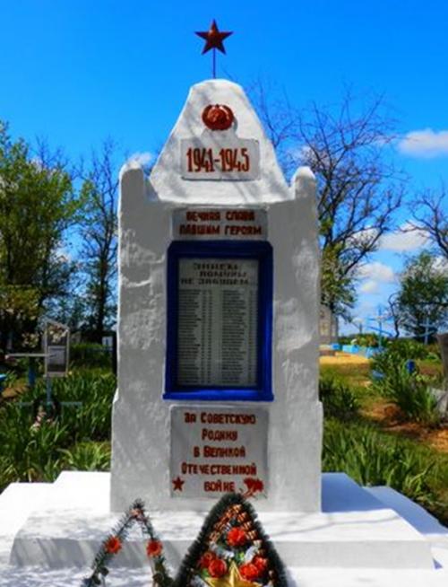 х. Вавилон Ипатовского р-на. Памятник советским воинам.