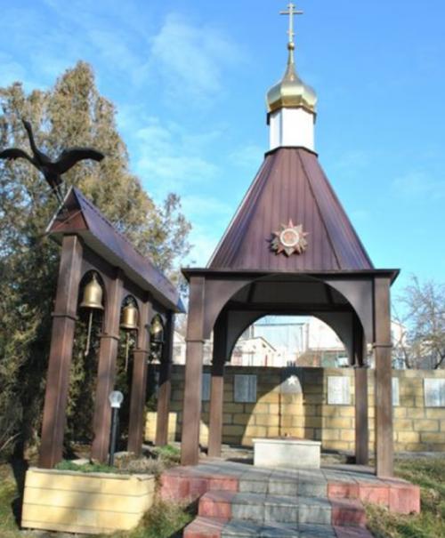 с. Верхнерусское Шпаковского р-на. Мемориал советским воинам.