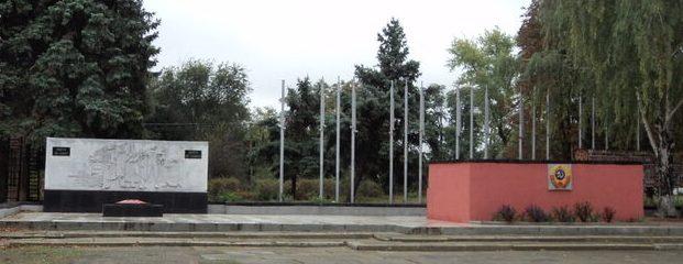с. Казинка Шпаковского р-на. Мемориал советским воинам.