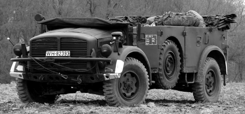 Внедорожник «Horch 108 Type 40» (Kfz-69). 1942 г.