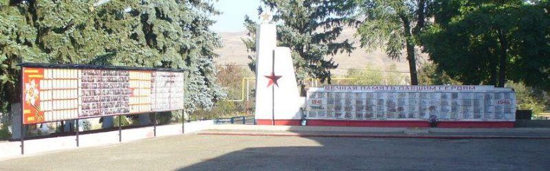 ст-ца. Темнолесская Шпаковского р-на. Памятник воинам, погибшим в Гражданскую и Великую Отечественную войны.