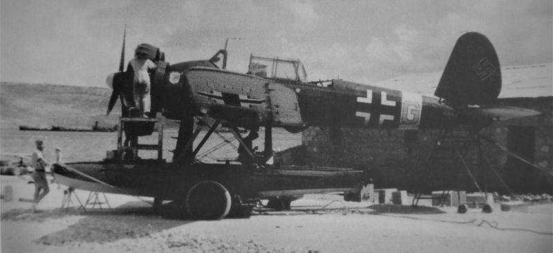 Гидросамолет Арадо Ar-196. Сентябрь 1943 г.