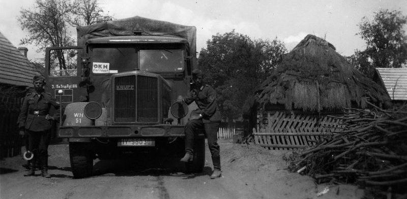 Грузовик «Krupp LD 6,5 N 242». 1942 г.