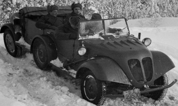 Внедорожник «Tempo G-1200». 1943 г.