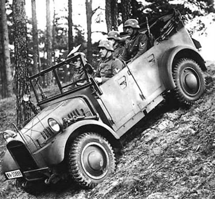 Внедорожник «BMW-325». 1943 г.