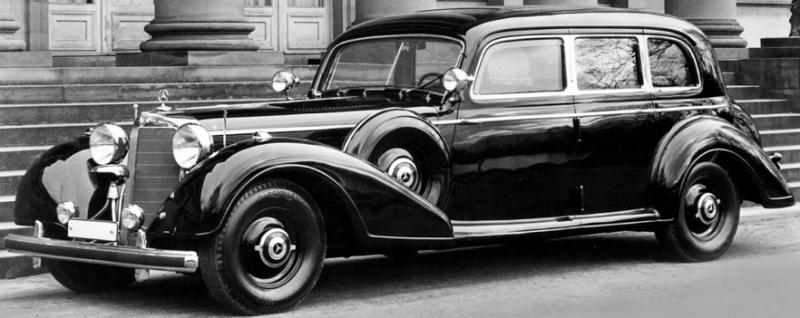 Седан «Mercedes-Benz 770» (W-150) для высшего руководства Германии. 1943 г.