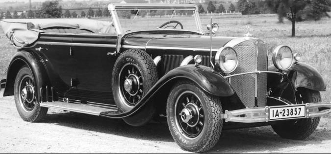 Кабриолет «Mercedes-Benz 770 Cabriolet F» (W-07) для высшего руководства Германии. 1943 г.