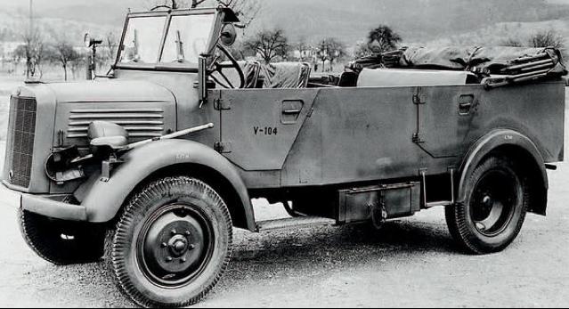 Автомобиль «Mercedes-Benz L-1500 A» (Kfz.-70). 1943 г.