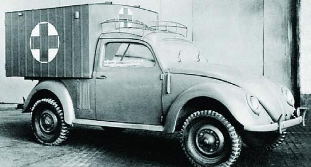 Санитарный автомобиль «Volkswagen Туре-83» (KdF-83). 1944 г.