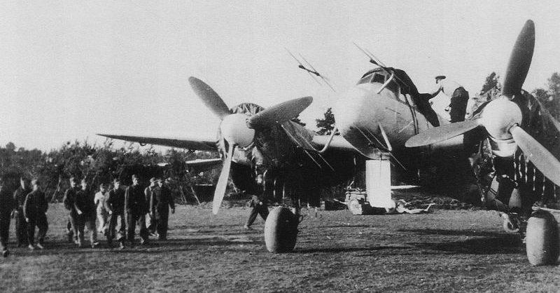 Аэродром ночных истребителей Юнкерс Ю-88 в Венгрии. 1944 г.