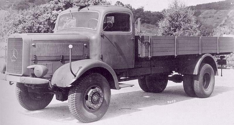 Автомобиль «Mercedes-Benz L-4500A». 1944 г.