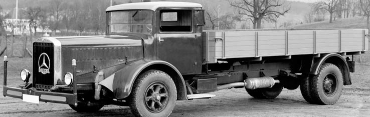 Бортовой грузовик «Mercedes-Benz L-6500» (L-54). 1944 г.