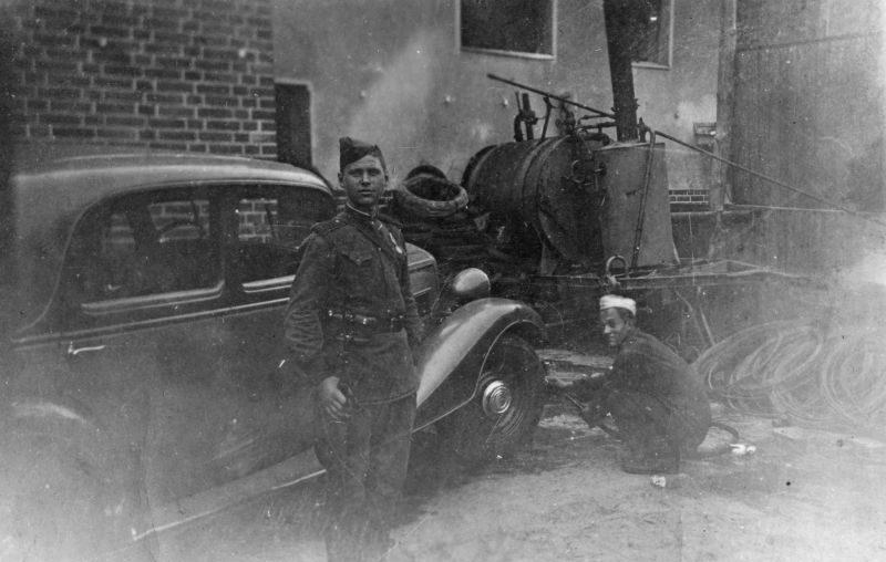 Трофейный автомобиль «Wanderer W-40». 1945 г.
