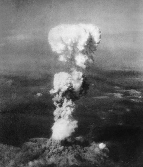 Ядерный гриб над Хиросимой. 6 августа 1945 г.