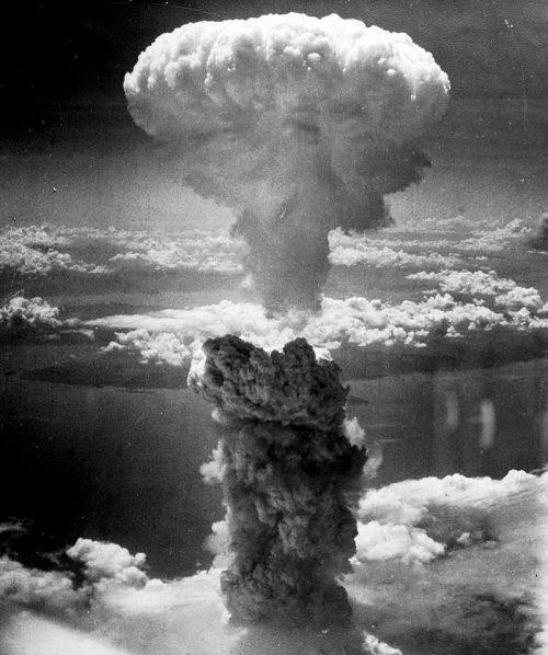Ядерный гриб над Нагасаки. 9 августа 1945 г.